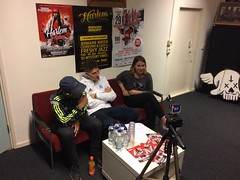 Interviews @ Harlem Hip-Hop Night