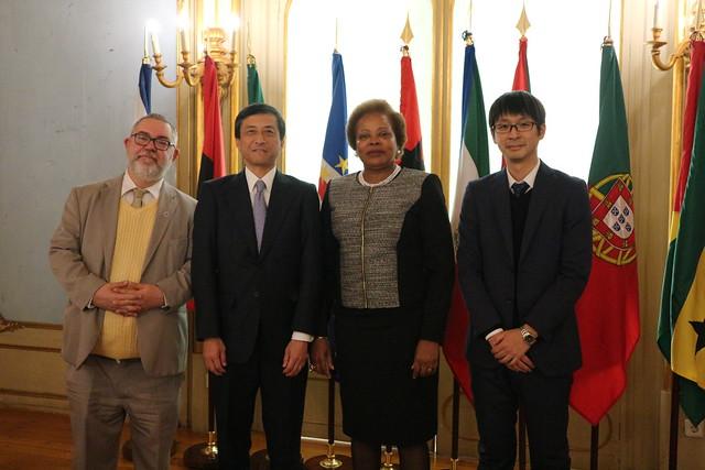 Secretária Executiva recebe cartas credenciais do embaixador do Japão em Portugal