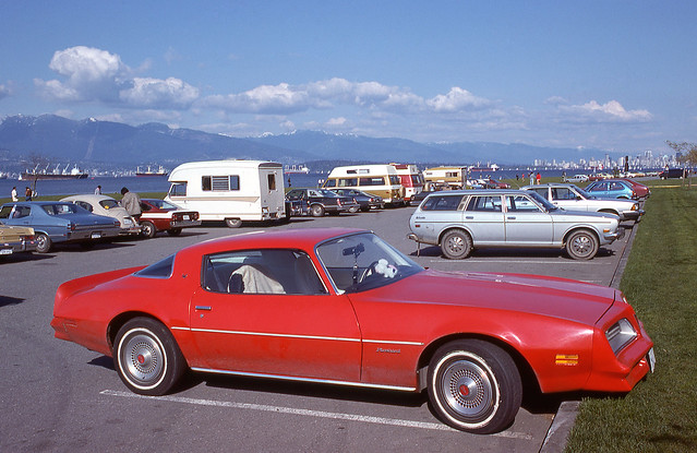 Firebird at Spanish Banks - Vancouver 1977