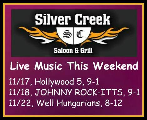 Silver Creek Poster 11-17-17