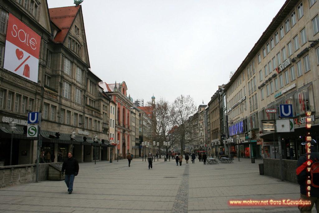 Мюнхен — город на реке Изар на юге Германии фото достопримечательностей