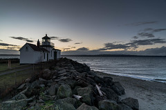 Discovery Park Lighthouse on Thanksgiving 2017