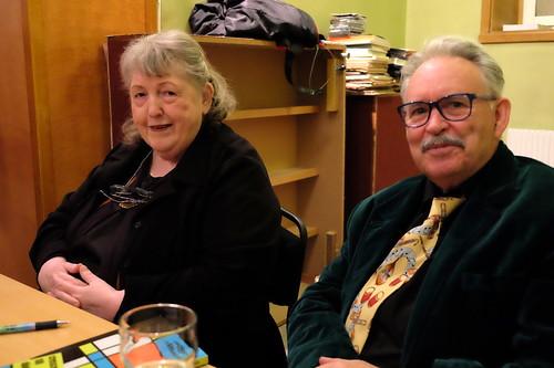 Kerstin Ryderstedt och Åke Bjurhamn