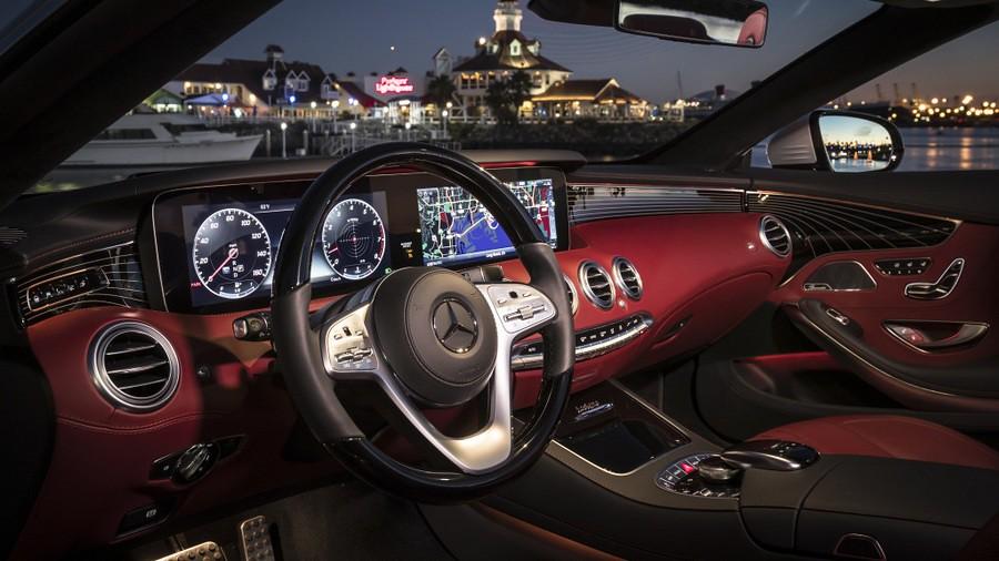 Mercedes S-Class Cabriolet, Coupe