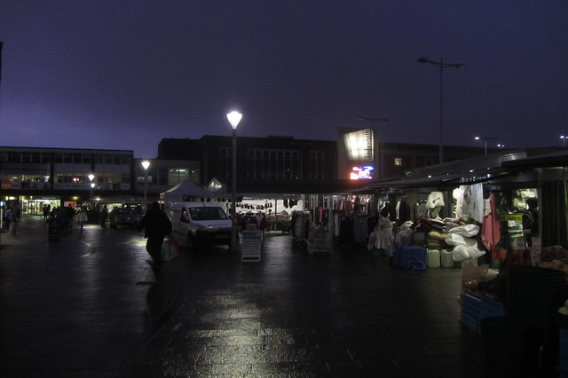 Ashton Outdoor Market, night time view