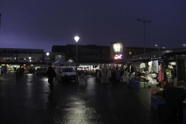 Ashton Outdoor Market, night time view