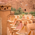 Tagines at Aït Benhaddou