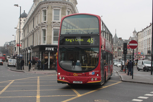 Go-Ahead London WVL257 LX06EBG