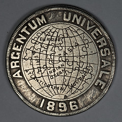 1896 Argentum Universale One Talent obverse