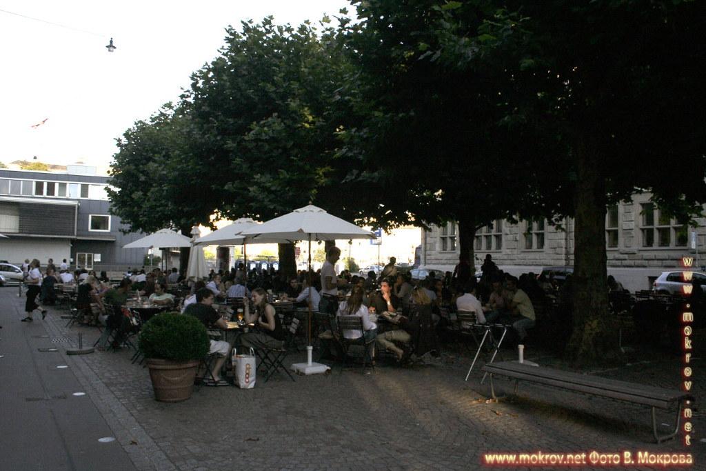 Город Цюрих и фотограф