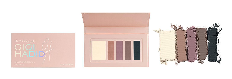 11 Gigi Hadid x Maybelline East Coast Glam Eye Contour Palette Cool - Gen-zel She Sings Beauty