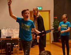 Slagverkare från Mullsjö-Aneby vann instrumentalistpriset i Minibrassdivisionen