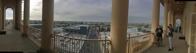 8th Floor Balcony at Bob Hope Patriotic Hall (1498)