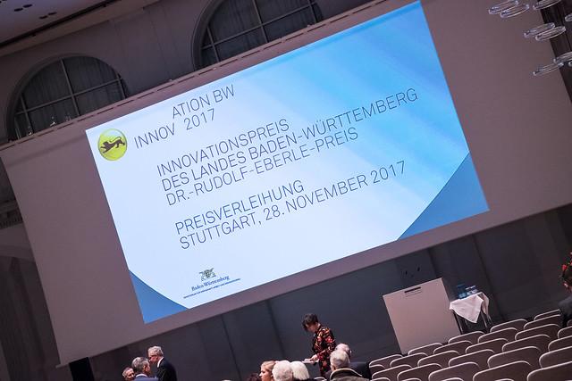2017: Innovationspreis des Landes Baden-Württemberg 2017
