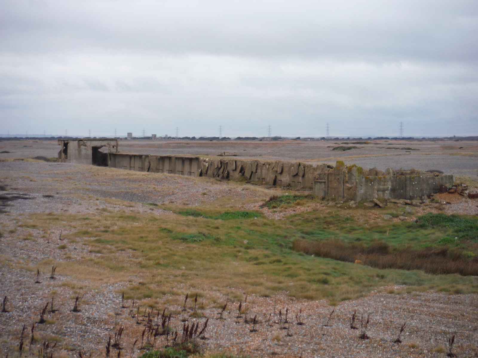 Concrete Structure for Combat Training, Lydd Ranges SWC 154 - Rye to Dungeness and Lydd-on-Sea or Lydd or Circular