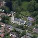 St Andrews Church in Melton - Suffolk UK aerial