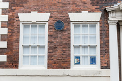 Photo of Blaydes Family blue plaque