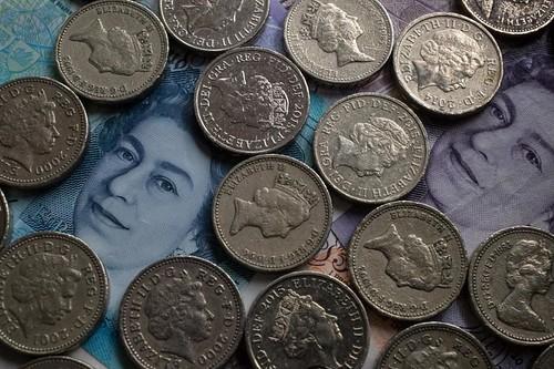 Round pound coins