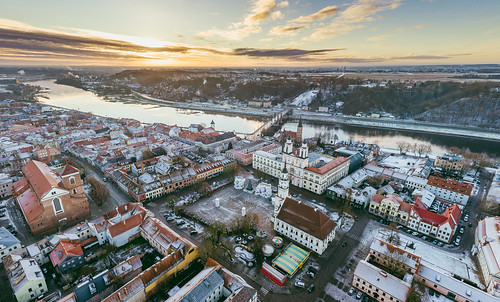 architecture kaunas aerial old town winter sunrise sun morning lietuva lithuania dronas 2017 europe djieurope drone aerialphotography dji djimavicpro mavic pro mavicpro birdseye djiglobal 365days 3652017 365 project365 339365 panorama