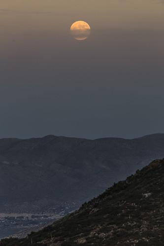 julian california unitedstates us moon luna supermoon 2017