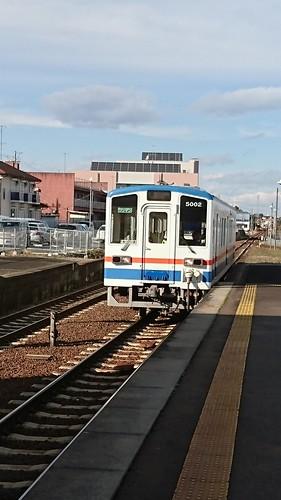 電車がかわいい