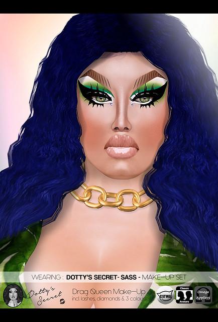 Dotty's Secret - Sass - Drag Queen Makeup