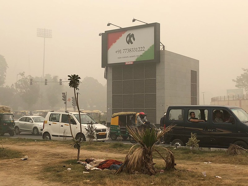 On the Death of Mankind... in the World's Most Polluted City With No Sun No Moon