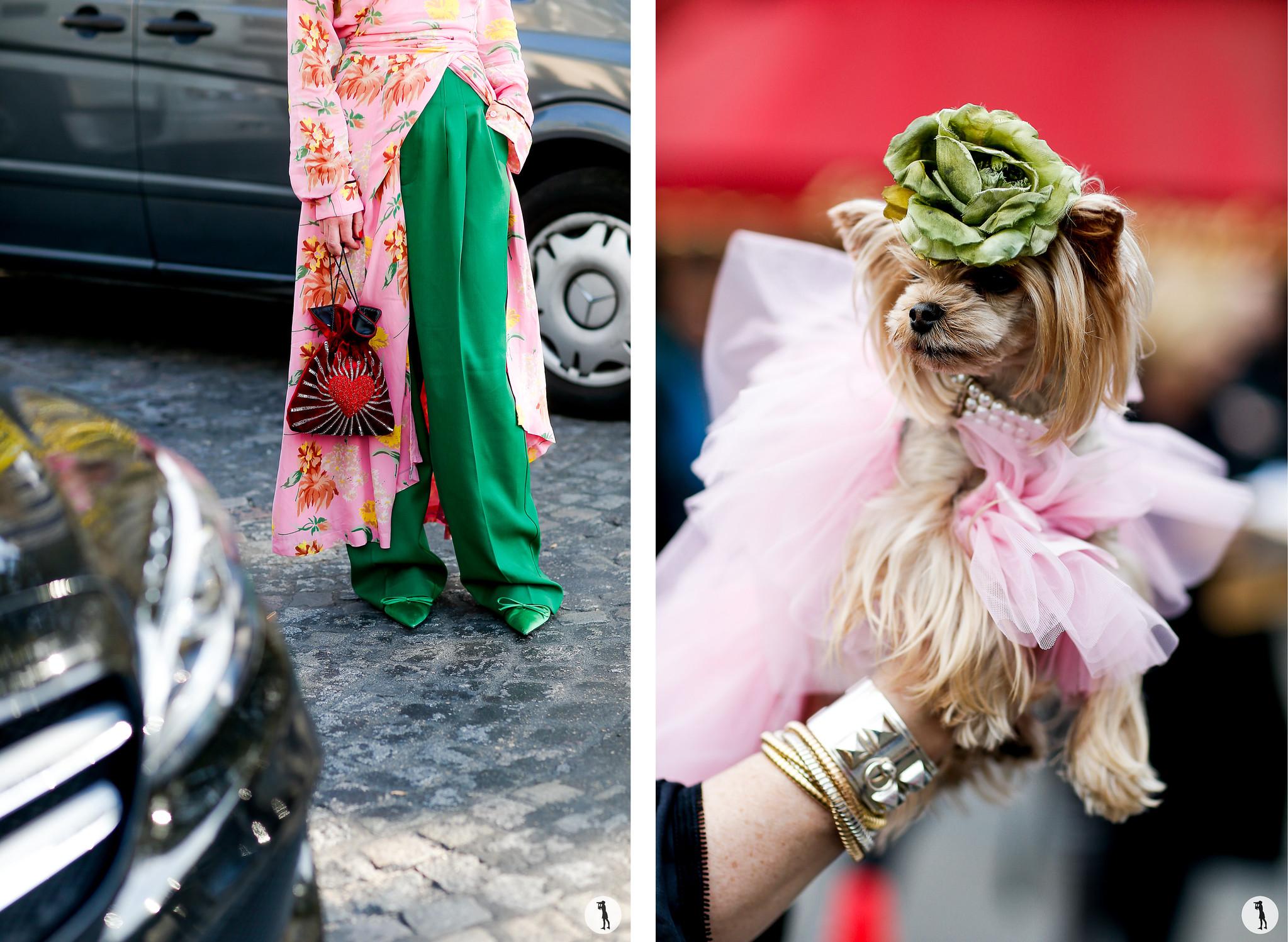 Close up and Lola Miss Sunshine - Paris Fashion Week SS18