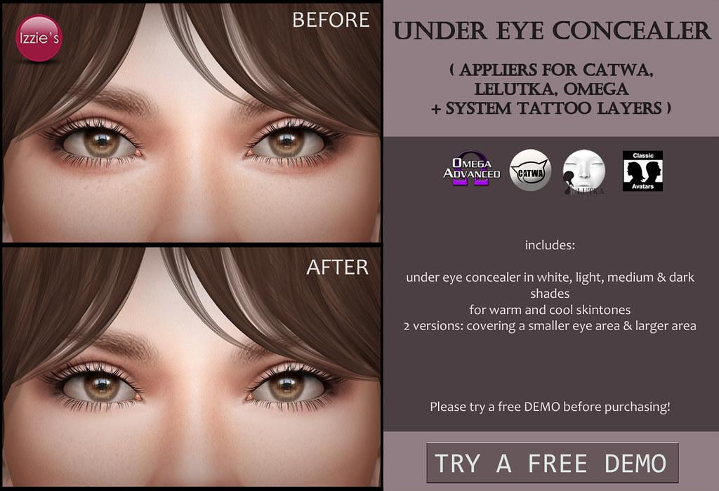 Under Eye Concealer (for FLF) - TeleportHub.com Live!