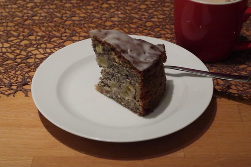 Apfel-Mohn-Kuchen (3. Tag)
