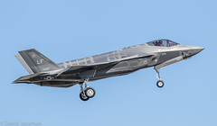 Luke F-35A on final to JBSA-LAK
