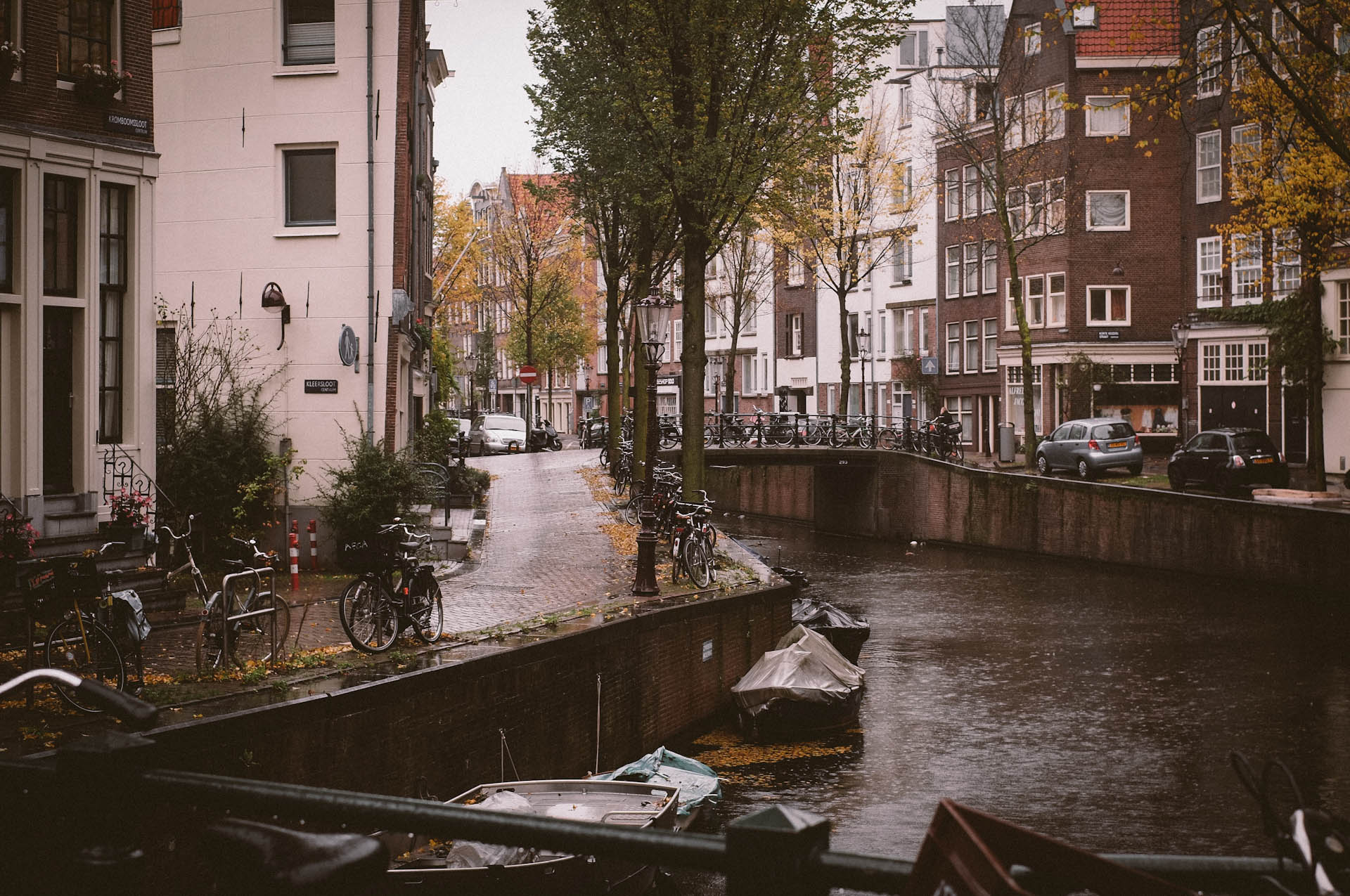 Amsterdam, Rainy Saturday