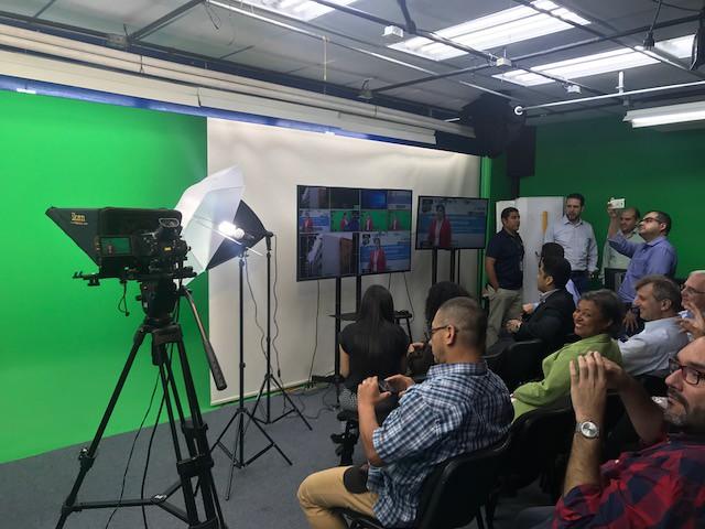 Estudio de grabación Universidad Galileo