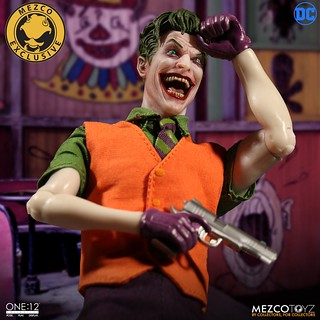 犯罪王子再度強勢歸來~ MEZCO – ONE:12 COLLECTIVE 系列 DC Comics【小丑 豪華版】The Joker:Deluxe Edition