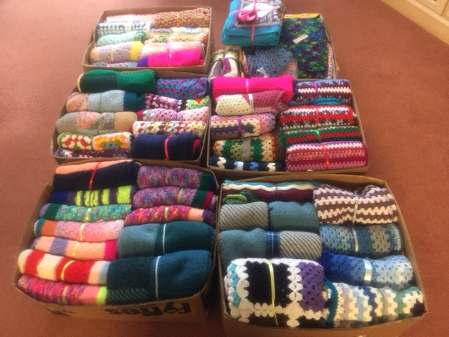 Last delivery of SIBOL Blankets 2017.