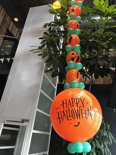 Ballonslinger Halloween Watertuin Spijkenisse