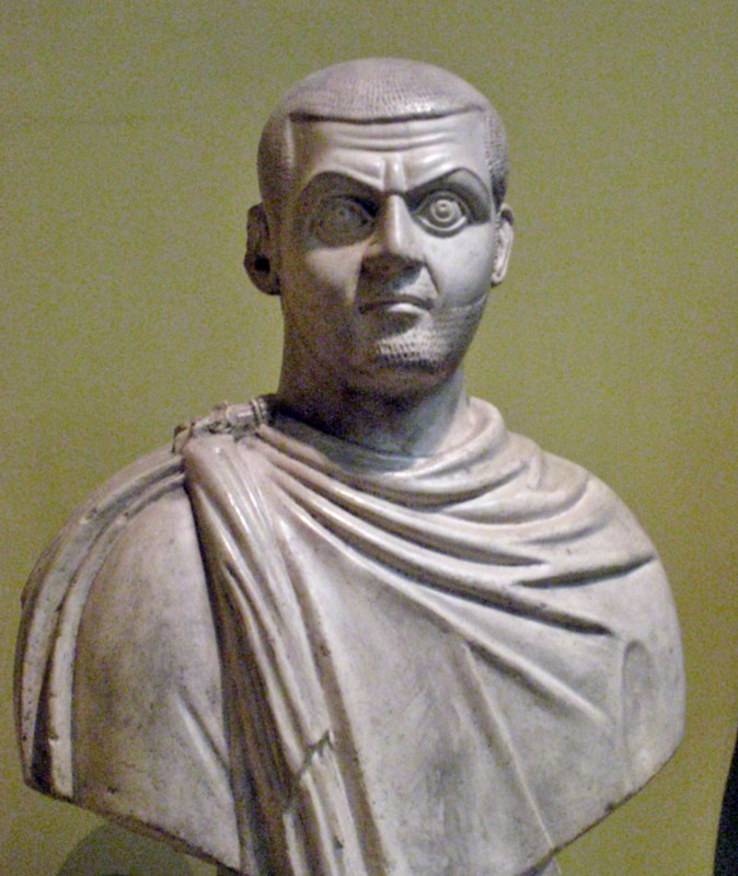 Emperor Maximinus II, cast from Pushkin museum