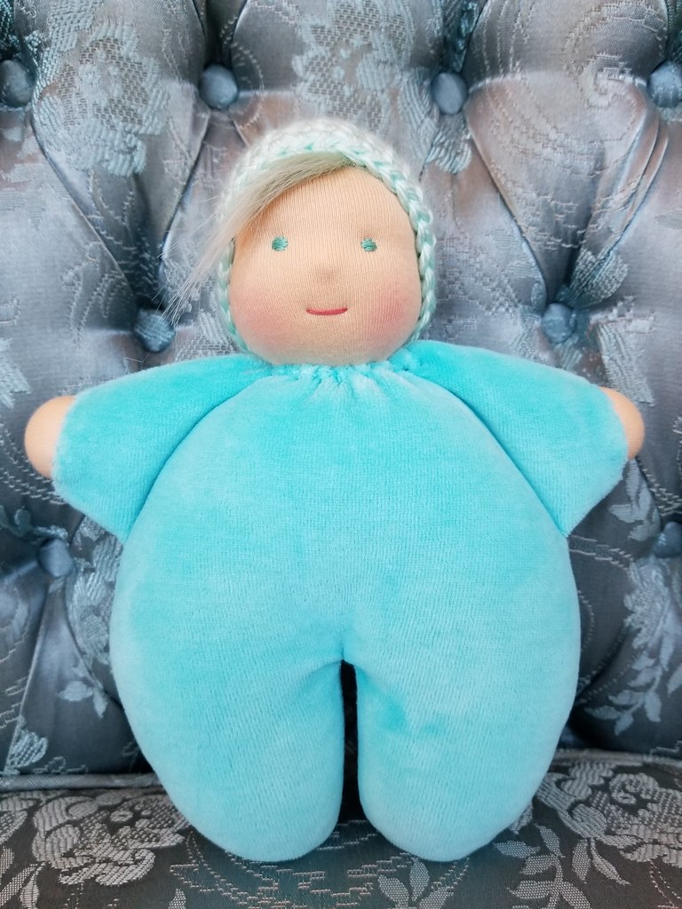 Snuggle Baby #14 - Light Turquoise