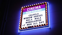 New Cinema Marquee