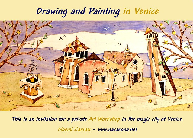 Drawing and Painting in Venice