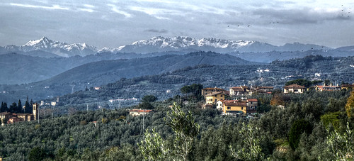 Italy - Tuscany - View from Vinci