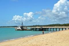 Pier na de praia Tamandaré (Pernambuco)