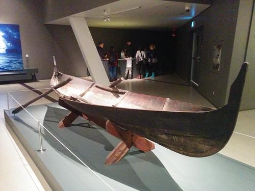 Replica boat #toronto #royalontariomuseum #vikingsto #vikings #boats #latergram