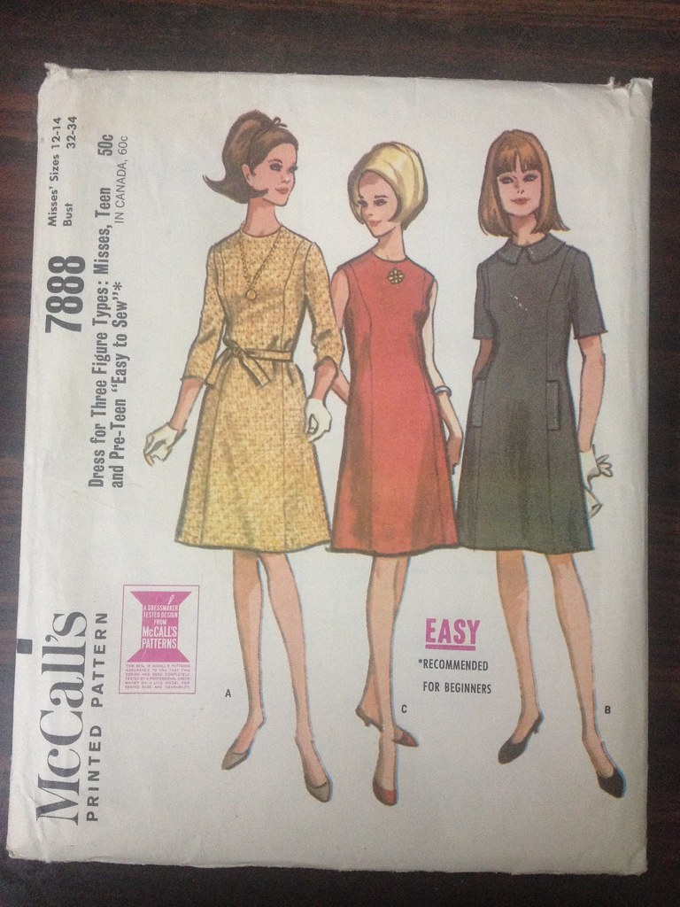 McCall Vintage 7888