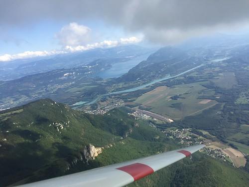 Le grand colombier et lac du bourget