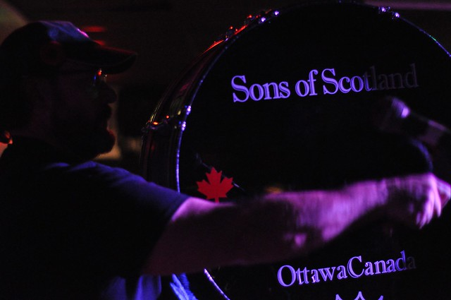 Sons of Scotland at the Dominion Tavern