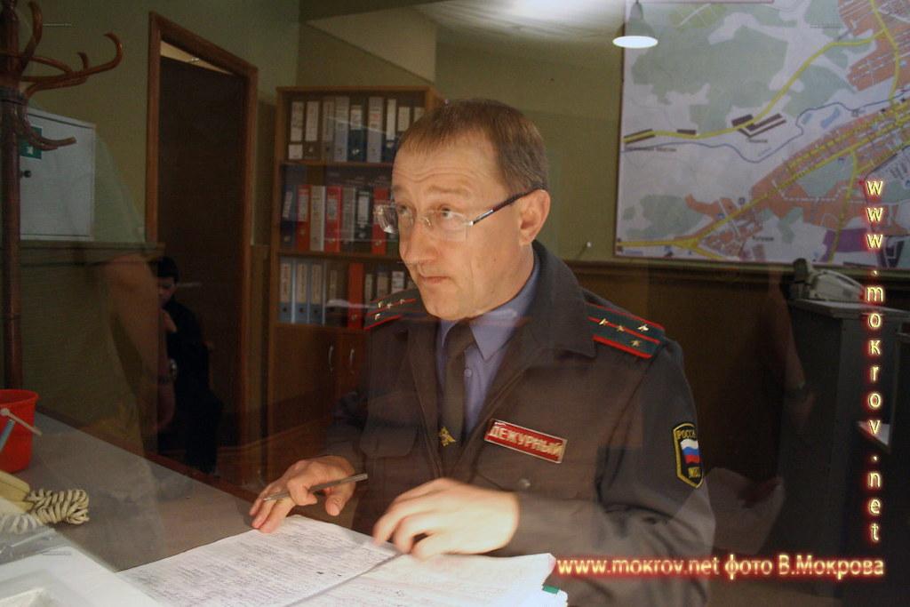 Федор Румянцев дежурный в телесериале Пятницкий. ОВД.