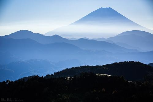 The view of Mt.Fuji from Mashino
