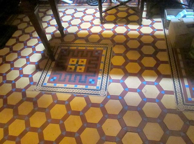 Victorian Hallway floor tiling