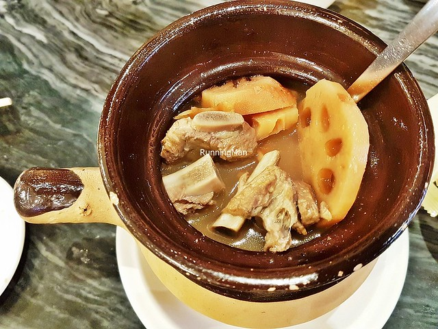 Double-Boiled Pork Ribs & Lotus Root Soup